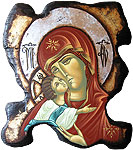 mother of god religious byzantine icon
